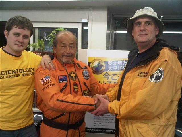 Ayal Lindeman helping out in Japan after the March 2011 earthquake