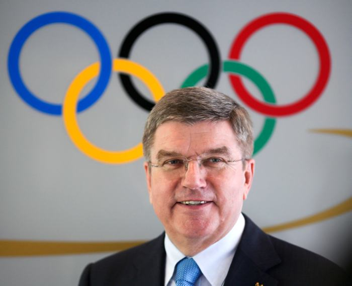 The IOC's new president, Thomas Bach