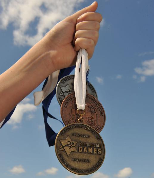 JCC Maccabi Games medals